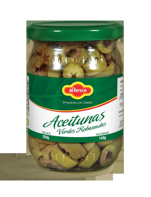 Aceitunas Verdes Rebanadas  250g