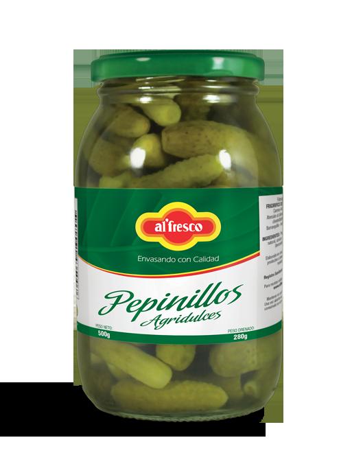 Pepinillos Agridulces  500g