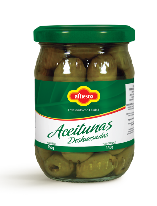 Aceitunas Deshuesadas 250g