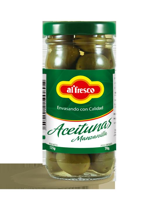 Aceitunas Manzanilla 125g