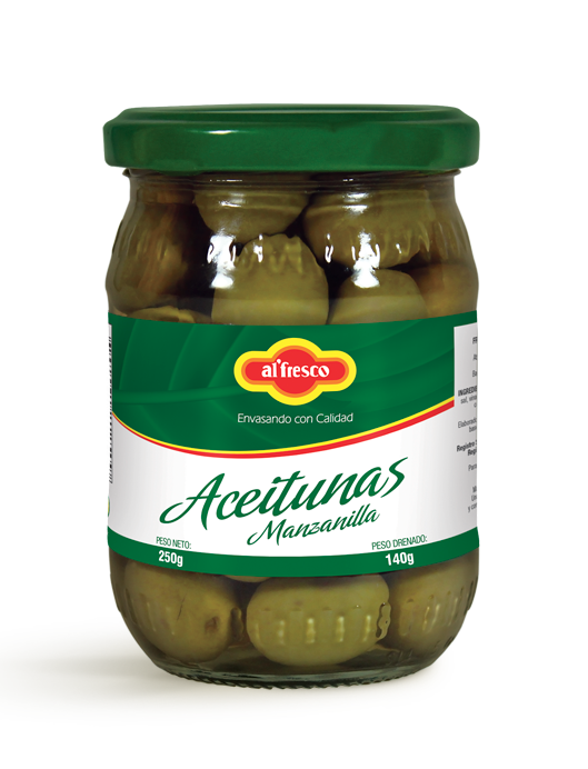 Aceitunas Manzanilla 250g