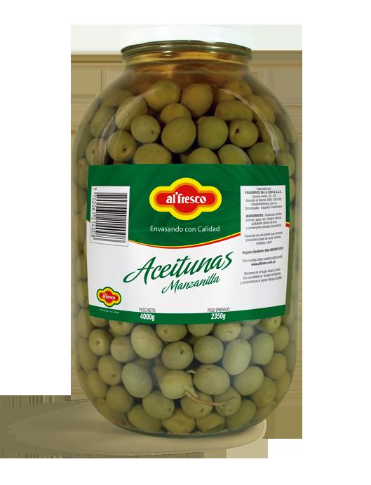 Aceitunas Manzanilla 4000g