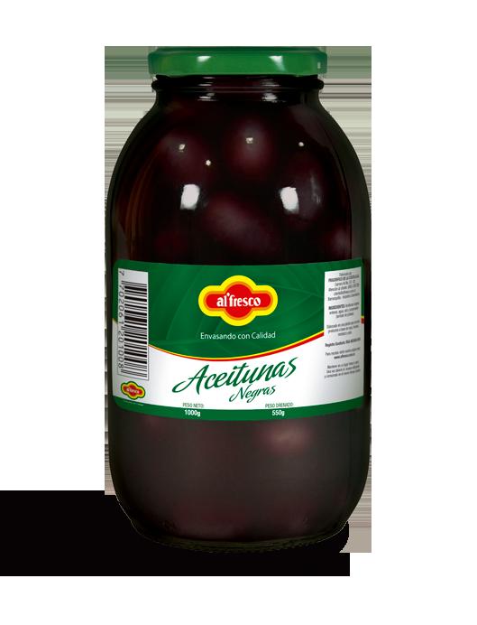 Aceitunas Negras 1000g