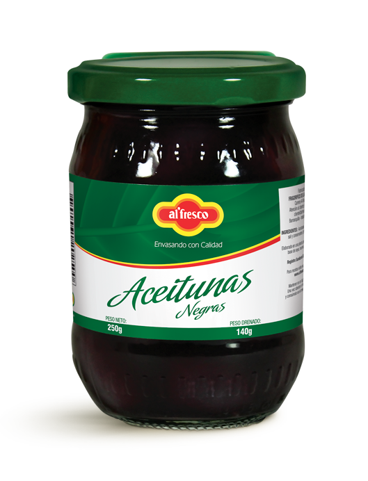 Aceitunas Negras 250g