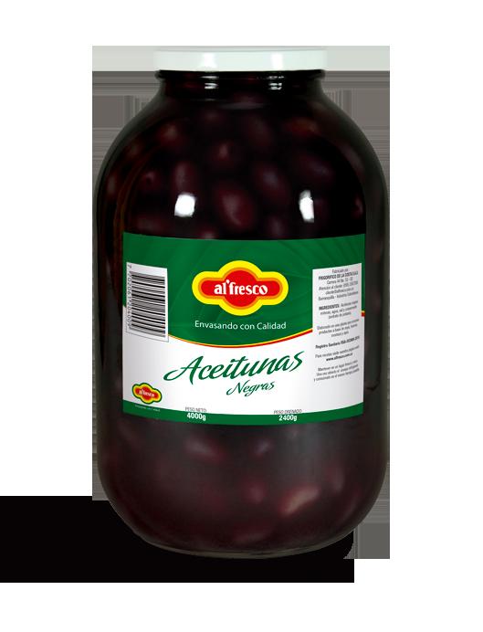 Aceitunas Negras 4000g